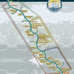 Kicking Horse River Rafting Map