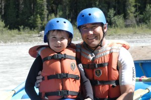 rafting in golden british columbia kicking horse