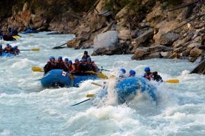 rafting golden bc