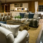 Farmhouse style decor in dining room at Whitewater Lodge, Golden B.C.