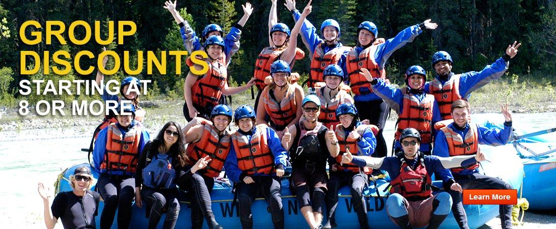whitewater rafting golden bc